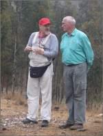 Sonstige/6692/lew-und-bernd-nutzen-die-pause Lew und Bernd nutzen die Pause ebenfalls für small talk. (30.10.2008)